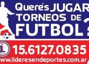 Torneos de fÚtbol 7, 8 y 11