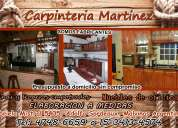 Carpinteria martinez 2016