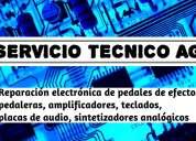 Servicio técnico para músicos