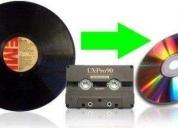 Oportunidad! conversión y edición de long play y casetes a cd, rosario