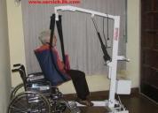 Gruas para discapacitados,rehabilitacion