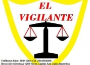El vigilante (seguridad privada)