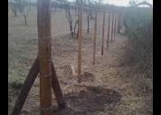 Se hacen alambrados para chacras y campos., contactarse.