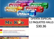 Golosinas halls, mc kio bs as, almagro