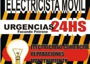 Oportunidad! electricista movil moron, hurlingham