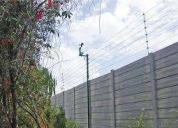Cercos eléctricos seguridad perimetral