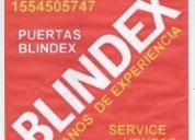 Blindex puertas blindex urgencias