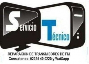 Reparacion de equipos de radios de fm,contactarse.