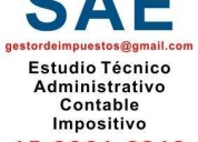 Estudio técnico administrativo contable. martínez