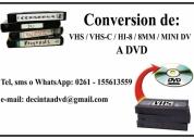 ConversiÓn vhs a dvd