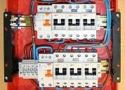 Electricista matriculado zona oeste, contactarse