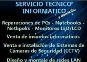 Servicio técnico informático, contactarse.
