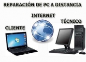 Reparación de computadoras a distancia