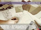 Oportunidad! proyectos asesoramiento diseño, buenos aires