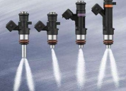 Reparacion y limpieza de inyectores nafteros