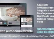 Oportunidad! diseño pagina autogestionable, buenos aires