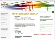 Diseño web profesional - diseño responsive