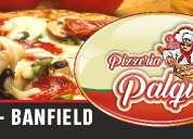 Pizzeria palqui en banfield