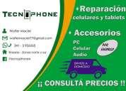 Reparacion de celulares y venta de accesorios celulares. contactarse.