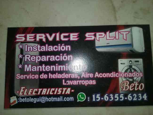 service splits beto