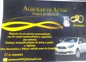 Alquiler de vehículo para eventos. contactarse.