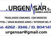 Ambulancias urgensar s.a