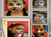 Maquillaje artÍstico, globologia y juegos guiados.