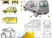 Informe técnico cambio de uso o tipo vehicular (ingeniero mecánico matriculado)