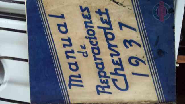 Vendo Manual  Taller y Despiece  Chevrolet  1937*38