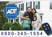 Adt alarmas - seguridad  las 24 horas. 0$ instalación 0800-345-1554