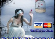 Tarot por visa para toda argentina. oferta $82 por 10 minutos.