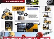 Neumatico 600 x 9 macizo  cubierta maciza autoelevadores - rodamarsa