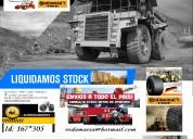 Neumatico 2400x33 mineria continental autoelevadores rodamarsa