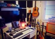 Curso de producción musical en home studio pro tools