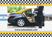 Servicio de taxis en buenos aires
