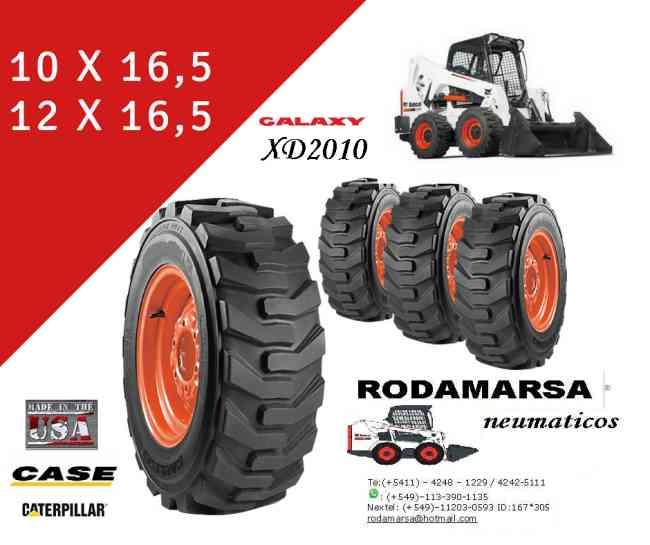 12X16.5 12 x 16.5 NEUMATICO MINICARGADORAS Made in Usa rodamarsa