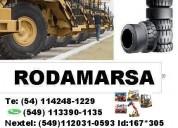 2400x33 1800x25 neumaticos continental rodamarsa autoelevadores minicargadoras