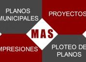 Realización de planos municipales- croquis para sa