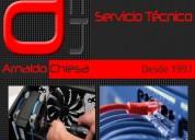 Ach servicio técnico de pc y redes