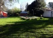 Casa estilo campo  con gran lote en la reja moreno