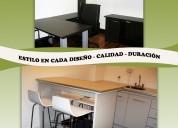 Carpinteria a medida muebles de cocina placares
