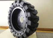 12x16.5 macizo minicargadora  rodamarsa