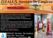 Zizalux servicios de limpieza