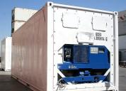 Containers  contenedor refrigerados carrier