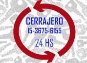 Cerrajería en san martín 15-36756155 24 horas
