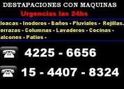 Destapaciones c/maquinas lanus 42256656