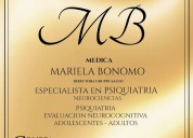 Psiquiatria : dra mariela bonomo