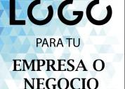 Diseño logo + tarj. de presentación(solo diseño)