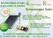 Termotanque solar 200l