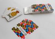 Mazos de cartas para empresas - roma grafica